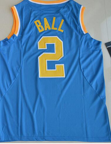 best website 9f5c7 f3996 Nike2017 UCLA Bruins Lonzo Ball 2 College tees Authentic Jersey - White  Size S,M,L,XL,2XL,3XL