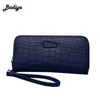 2016 Fashion Women Clutch PU Leather Wallets Female Long Wallet Stone Grain Coin Purses Mobile Phone Bags Lady Card & ID Holders - Raja Indonesia