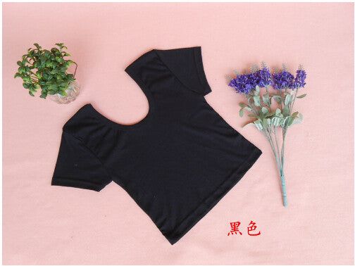 2017 New Women Best Sell U neck Sexy Crop Top Ladies Short Sleeve T Shirt Tee Short T-shirt Basic Stretch T-shirts - Raja Indonesia