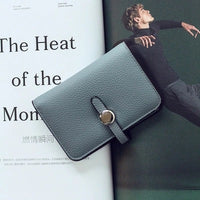 2016 Fashion HASP Women Wallet  PU leather Coin purse Card holder New arrival brand design Candy colors Small purse - Raja Indonesia