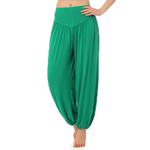 2016 New Women casual harem pants high waist dance pants dance club wide leg loose long bloomers trousers plus size,SB511 - Raja Indonesia
