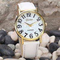 2016 Women Retro Digital Dial Leather Band Quartz Analog Wrist Watch Watches Ladies Watch Women Perfect Gift - Raja Indonesia