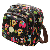 2017 Korean Fashion Women Messenger Bags Canvas Flower Print Crossbody Shoulder Bags Small Ladies Designer Mom Handbags - Raja Indonesia