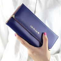 2017 Best Deal Fashion Handbags Lady Women Wallets Bag Popular Purse Long PU Handbags Card Holder Birthday Bags Free Shipping - Raja Indonesia