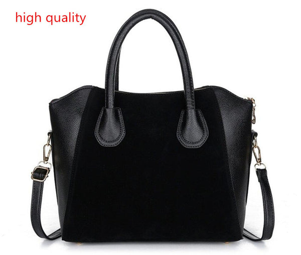2017  women handbag spring nubuck PU leather bags women messenger bag free shipping - Raja Indonesia