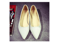 2016 Fashion Women Shoes Woman Flats high quality suede Casual Comfortable pointed toe Rubber Women Flat Shoe Hot Sale New Flats - Raja Indonesia