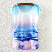 2017 Brand New kawaii t Shirt Women harajuk Crew Neck Top Short Sleeve Indian Girls Print T-Shirt Fashion Summer Tees For Ladies - Raja Indonesia