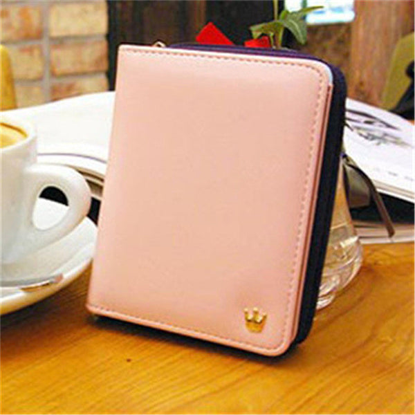 2017 Women Purse Short Wallet Clutch Lovely Vintage Ladies Handbag Hot Sale Fashion Clutch Card Holder Gift Free Shipping J440 - Raja Indonesia
