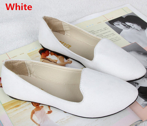 18 Colors Available 2016 Retro Style Women Canvas Slip Fahsion Flat Shoes For Female Zapatos Mujer Free Shipping FB0045 - Raja Indonesia