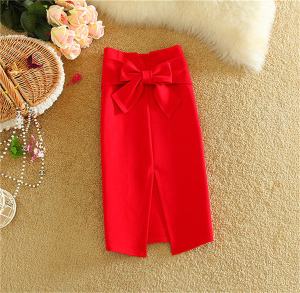 2017 New Women Skirt Flounced Hem Mermaid Skirt Slim Knitting OL Pencil Skirt Beautiful Ladies Fishtail Skirts in 8 Colors 60396 - Raja Indonesia