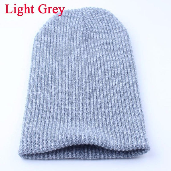 91e4b0abdbe ... 1PC Knit Men s Baggy Beanie Oversize Winter Warm Hats Ski Slouchy Chic  Crochet Knitted Cap for