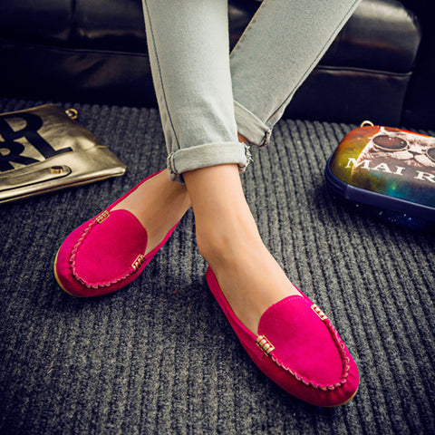 New arrival women flats colorful summer ladies flat shoes 2016 fashion solid  women casual shoes hot sale - Raja Indonesia