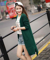 2017 Spring sales Fashion  High Quality Cashmere Long Cardigan Women V-Neck New  Design Genuine Goods Lowest Price Free Shipping - Raja Indonesia