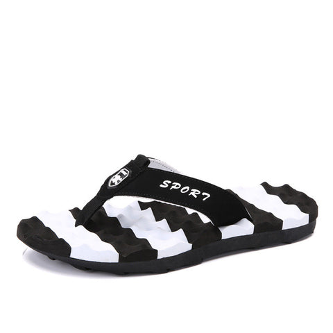 2017 New Summer Men Big Plus Size 48 Shoes Slides Beach Massage Slipper Flip Flop Sandals Soft Bottom Non-slip Sandalias Hombre - Raja Indonesia