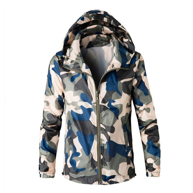 c5a3ff35014bc ... Military Outdoors Jacket Mens Autumn Winter Army Tactical Jacket  Fashion Camo Hooded Windbreaker Camouflage Coat Plus ...
