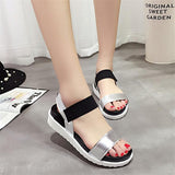 NEW Hot Selling sandals women Summer shoes woman 2016 peep-toe flat Shoes Roman sandals Women sandals sandalias mujer sandalias - Raja Indonesia
