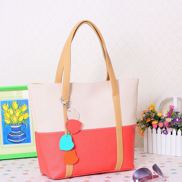 2016 Hot Summer Fashion Women PU Leather Shoulder Bags Casual Tote Handbags Tassel Tote Bags Sac A Main Marques Bolsos Mujer New - Raja Indonesia
