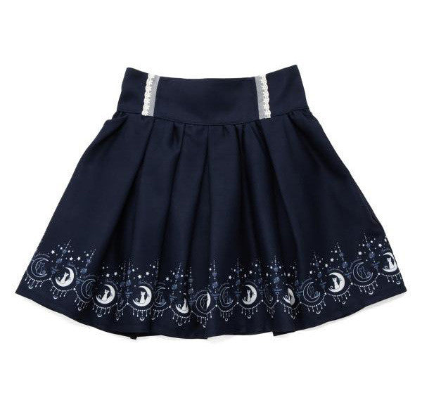 2016 Summer Cute Female Women Skirts Anime Sailor Moon 20th Anniversary Skirt Cat Lolita Kawaii Sweet Skirts Preppy Style Cos SK - Raja Indonesia