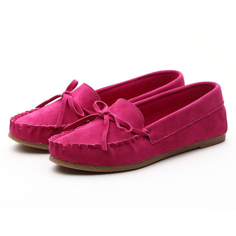 Women Shoes For Spring Summer Flats Casual Shoes Flock Oxfords Slip On Cross tied Shoes Good Quality AU243