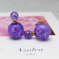 2016 new hot design fashion brand jewelry double imitation pearl  earrings for women colors Statement earings for girls gift - Raja Indonesia