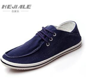 2016 new Autumn Men Shoes Casual Male Footwear For Men Suede Leather Flat Men's Washed denim canvas shoes Zapatos Hombre Q124 - Raja Indonesia