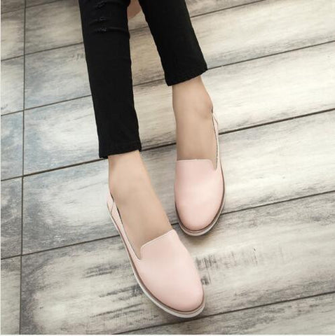Hot!! 2016 Spring New Street Korea Little White Shoes Fashion Wind Flat Shoes Flat Women's Shoes For Women Ladies Girls B100 - Raja Indonesia