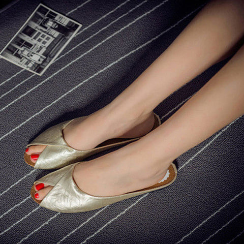 Free shipping 2017 new summer brand Baotou leisure female slippers 5 color 5 yards leather women sandals - Raja Indonesia