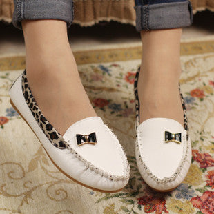 New Arrival 2017 Spring and Autumn Women's Loafers Flat Heel Soft Comfortable Shoes Women Loafers Boat Shoes Cute Free Shipping - Raja Indonesia