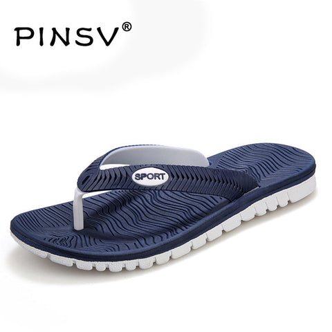 New Summer shoes Men Flats Sandals Hot Sandalias hombre Beach Flip Flops Men's Sandals Beach Slippers Shoes For Men 40-45 - Raja Indonesia