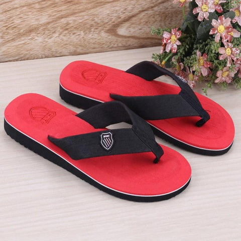 2017 Summer sandals and slippers for men and women flat slippers non-slip slippers Colorful beach sandals explosion - Raja Indonesia