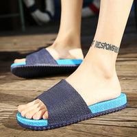 2017 Summer Slippers Men Casual Sandals Gladiator Sandals For Men Massage Slippers Beach Flip Flops Chinelos Masculino - Raja Indonesia