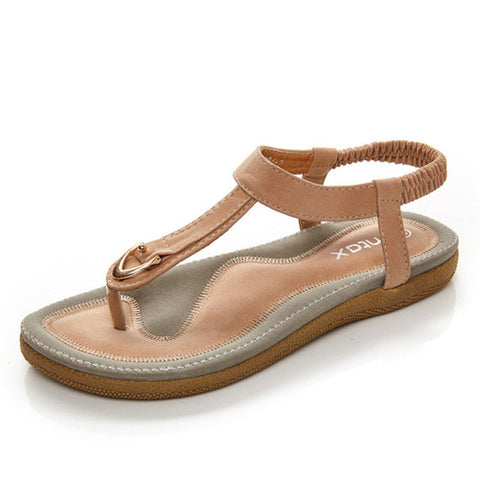 G.L.Brother Sandals Women Sandalia Feminina Summer Shoes Sandalias Mujer Women Sandals Sandale Femme Women'S Sandals Ladies Flat - Raja Indonesia