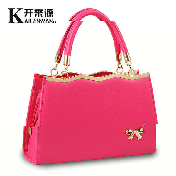 2016 new handbag bag ladies ladies fashion handbag Crossbody bow Shoulder Handbag - Raja Indonesia