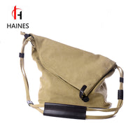 2017 New Fashion Canvas Women Casual  Messenger Bags Designer Brand Vintage Fashion Women's Crossbody Bag Shoulder Handbags - Raja Indonesia