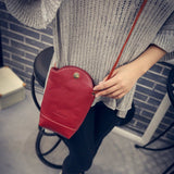 2016 Vintage Metal Buckle Crossbody Bags for Women Fashion Bucket  Beach Bag Red Shoulder Bags Ladies Leather Black Handbags - Raja Indonesia