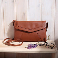 1Pc New Small Retro Women Envelope Bags Handbag Casual Vintage PU Leather Messenger Bag - Raja Indonesia