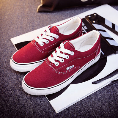 High Quality Retail New Sale Women's Canvas shoes Lace Up casual shoes Flats Women Breathable shoes superstar shoes size35-42 - Raja Indonesia