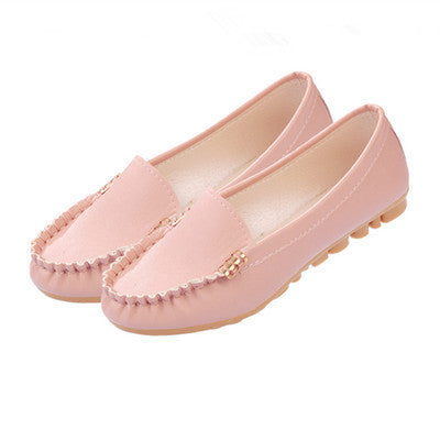 Hot Selling Sping and Autumn Flats for Women Fashion Flat Heel Women's Flats Black Pink Blue Loafers Women Free Shipping - Raja Indonesia