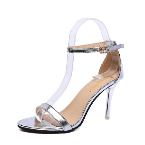 New Arrival Hot-selling Summer shoes Peep Toe Sweet Fashion Women's Sandals Thin Heel Pumps Princess High Heels Women Shoes - Raja Indonesia