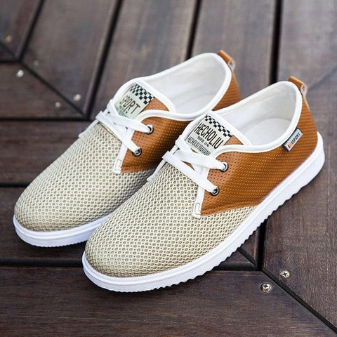 Hot Sale Summer Men Shoes New Breathable Male Casual Shoes Fashion Chaussure Homme Soft Zapatos Hombre Summer Men Cool Shoes - Raja Indonesia