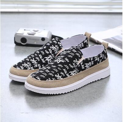 Hot Fashion Spring Men Shoes Current Casual Woman With Flat Lace Nubuck Leather Beautiful Flat Chaussure Homme Shoes Men - Raja Indonesia