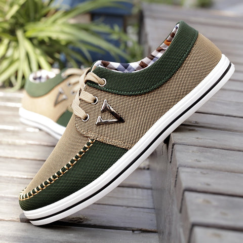 2016 Men Shoes Fashion Trend Canvas Shoes Male Casual Shoes Mens Low Leisure Shoes Male Autumn Flat Breathable Zapatillas Hombre - Raja Indonesia