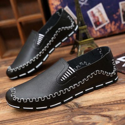 2016 New Doug Shoes For Male Fashion Super Comfortable Slip-On Solid Lazy Men' Loafers Spring And Autumn Driving Shoes c200 15 - Raja Indonesia