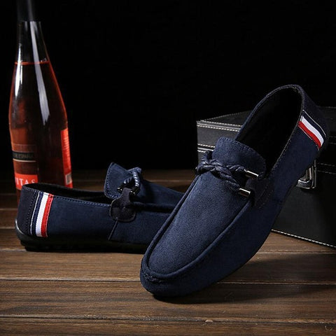 Hot Sell Men Shoes Men's Fashion Men Drving shoes Spring Summer Autumn And Winter Moccasins Casual Shoes US Size 6.5-10 - Raja Indonesia