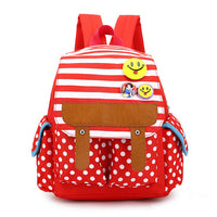 2016 New Cartoon Children's School Bags Nursery Boys And Girls 1-5 Years Old Children Shoulder Bag Backpack  Smiley Medal - Raja Indonesia