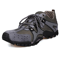 2017 New Men's Mesh Sneakers Outdoor Climbing Wear-ResistingTrekking Non-Slip Low Shoes Free Shipping H116 - Raja Indonesia