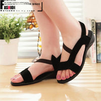 2016 Summer Sandals Genuine Leather Women's Sandals Slippers Women Sandals for Women Flat Shoes Size 35-40 Free Shipping - Raja Indonesia
