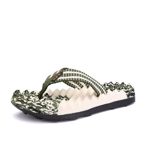 Men's Flip Flops Slippers Summer Shoes Men Fashion Beach Sandals Shoes for Male - Raja Indonesia
