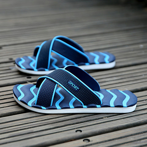 2017 Summer Fashion Designer Superstar Breathable Men Beach Slippers Outdoor Walking Durable Men Sandals Mixed Colors Shoes Men - Raja Indonesia