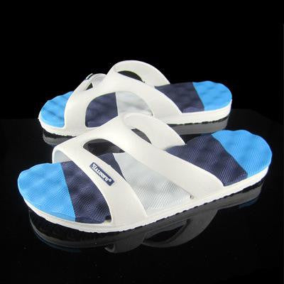 men shoes 2016 new arrival men sandals summer male breathable leather sandals man outdoor shoes Breathable flip flops 14 - Raja Indonesia